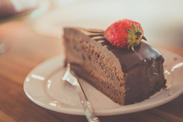 Ciasto czekoladowe o obniżonej zawartości cukru